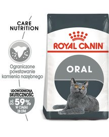 Oral Care 400 g karma sucha dla kotów dorosłych, redukująca odkładanie kamienia nazębnego