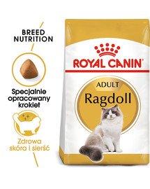 Ragdoll adult 10 kg karma sucha dla kotów dorosłych rasy ragdoll