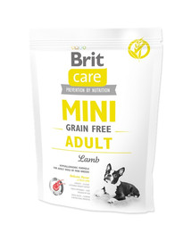 Care Grain Free Mini Adult Lamb 400g