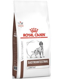 Dog gastro intestinal low fat 12 kg
