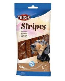 Paski dla psa z jagnięciny 10 szt. / 100 g