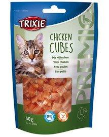 Snacki premio cubes kurczak 50 g