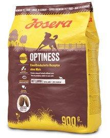 Dog Optiness z jagnięciną dla wrażliwych psów 900 g