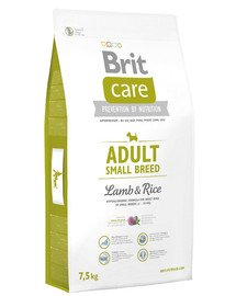 Care Adult Small Breed lamb & rice 7,5 kg
