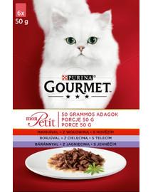 Mon Petit Mix mięsny (6x50 g) x8