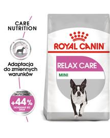 Mini Relax Care karma sucha dla psów dorosłych, ras małych, narażonych na działanie stresu 8 kg