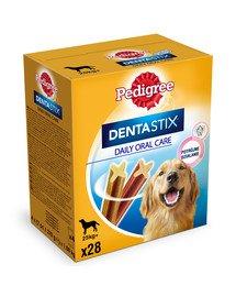 DentaStix (duże rasy) przysmak dentystyczny dla psów 28 szt. - 4x270g