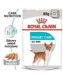 Urinary Care karma mokra dla psów dorosłych, ochrona dolnych dróg moczowych 85 g x 12