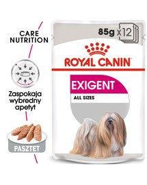 Exigent karma mokra - pasztet dla psów dorosłych, wybrednych 85 g x 12