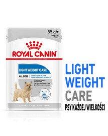 Light Weight Care karma mokra - pasztet dla psów dorosłych z tendencją do nadwagi 12 x 85 g