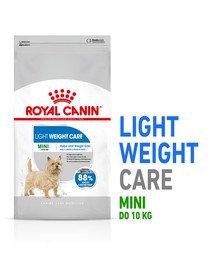 Mini Light Weight Care karma sucha dla psów dorosłych, ras małych z tendencją do nadwagi 8 kg
