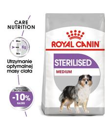 Medium Sterilised 3 kg karma sucha dla psów dorosłych, ras średnich, sterylizowanych