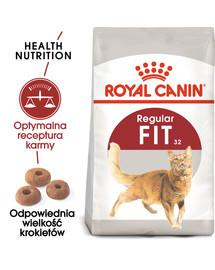 REGULAR FIT 32 4 kg karma sucha dla kotów dorosłych, wspierająca idealną kondycję