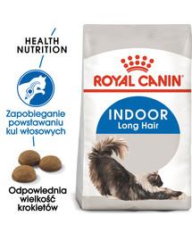 Indoor 35 Long hair sucha karma dla kotów długowłosych przebywających w domu 10 kg