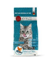 for cats karma sucha dla kota smak: łosoś i kurczak 600 g