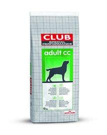 Club Adult CC karma sucha dla psów dorosłych o normalnej aktywności 15 kg