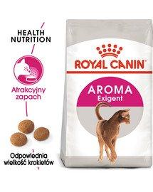 Exigent Aromatic Attraction 33 karma sucha dla kotów dorosłych, wybrednych, kierujących się zapachem 2 kg