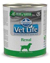 VET Life natural diet dog renal 300 g