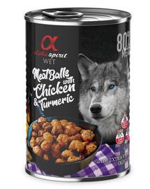 Mięsne klopsiki z kurczakiem i kurkumą 400 g