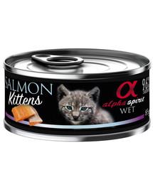 Salmon for kitten Łosoś dla kociąt 85 g