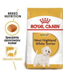 West Highland White Terrier Adult karma sucha dla psów dorosłych rasy west highland white terrier  1.5 kg
