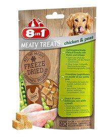 Mięsne liofilizowane przysmaki kurczak i groszek 50 g