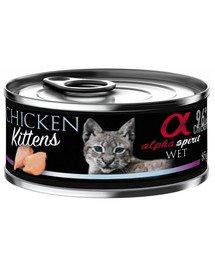 Chicken for kitten Kurczak dla kociąt 85 g