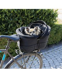 Kosz rowerowy na wąskie bagażniki, 29x42x48cm