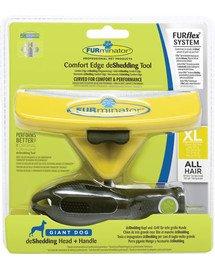 FURflex Wyczesywanie Podszerstka Zestaw dla Psów Rozmiar XL