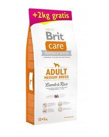 Care Adult Medium Breed lamb & rice 12 + 2 kg