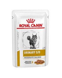 Veterinary Diet Feline Urinary S/O Moderate Calorie 12x85 g