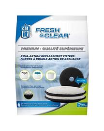 Filtr wymienny Fresh & Clean 2 szt.