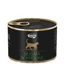 Natural Taste Bogata W Królika 185 g