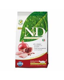 N&D Cat chicken & pomegranate neutered 5 kg