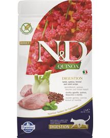 N&D Cat Quinoa Digestion lamb & fennel 1,5 kg