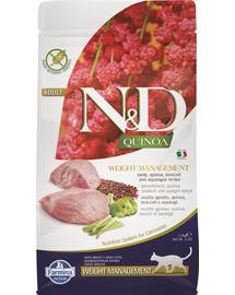 N&D Cat Quinoa Weight Management lamb & broccoli 1,5 kg