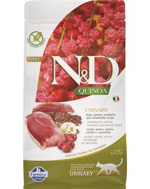 N&D Cat Quinoa Urinary Duck 1,5 kg