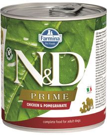 N&D Prime dog chicken & pomegranate 285 g