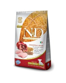 N&D Low Grain Chicken & Pomegranate Mini Puppy 2.5 kg