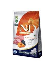 N&D GF Pumpkin Lamb & Blueberry Puppy Medium & Maxi 2.5 kg