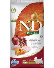 N&D Pumpkin chicken&pomegranate adult mini 7 kg