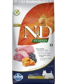 N&D Pumpkin lamb&blueberry adult mini 7 kg