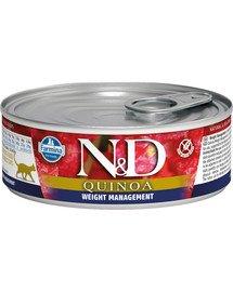 Cat quinoa weight management 80 g