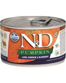 N&D Dog lamb, pumpkin, blueberry mini 140 g
