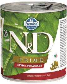 N&D Prime dog chicken & pomegranate 285 g