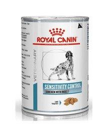 Dog sensitivity control chicken & rice  420 g