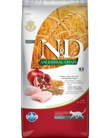 N&D Low Grain Chicken & Pomegranate Adult Cat 5 kg