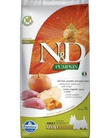 N&D GF Pumpkin Boar & Apple Adult Mini 7 kg