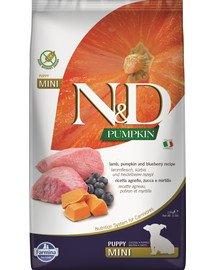 N&D GF Pumpkin Lamb & Blueberry Puppy Mini 7 kg
