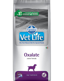 Vet Life Dog Oxalate (Urinary) 12 kg